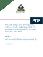 MENFP Building Schools DGS Guide Pratique Avril2014