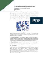 Caracteristicas de Los Yacimientos Petroleros 2016
