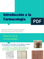 Clase N 1 Introd. Farmacologia