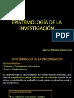1. Epistemología de La Investigación