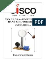 Manual - Generador de Van de Graaff