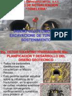 DISEÑO GEOTECNICO DE EXCAVACION DE TUNELES MITTAL.ppt