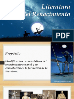 Literatura Española Renacimiento