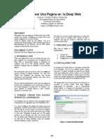 Como Crear Una Pagina en La Deep Web