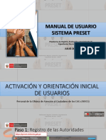 Preset-Interaccion Con Usuario