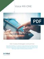 MiVoice MX-OnE Main Brochure-SV