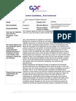 GP Questionário Para Candidatos Director Comercial