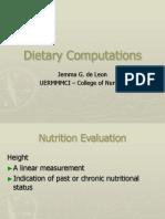 48339957 Dietary Computations Part 2 1