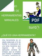 SEGURIDAD HERRAMIENTAS MANUALES