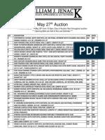 Jenack MAY 27 - PRINT Catalog - 12 Pages