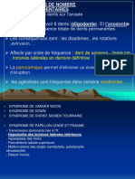 Pr Sentation1.Ppt Anomalies Dentaires 19-06-2011