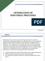 optimization industrial process