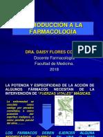Clase 01 - Introduccion a La Farmacologia