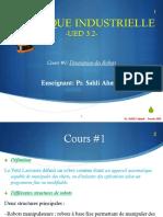 Robotique Industrielle UED 3.2 Étudiant