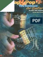 Slap & Pop Techniques For Guitar.pdf