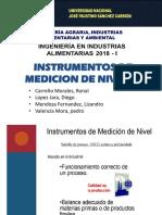Instrumentos de Medicion de Nivel