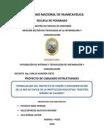 Informe Red de Datos Final - Colegio JEC