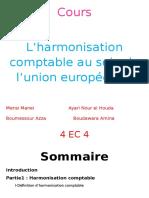 Harmonisation Comptable Euro