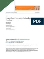 Heterarchy as Complexity_ Archaeology in Yoro Honduras
