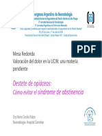 Rubio_Destete de Opiaceos