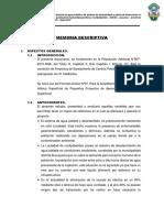 DISPONIBILIDAD HIDRICA huacachipa