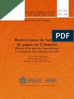 Paper de Modelo de Crecimiento Economico Con Restriccion de Blanza de Pagos