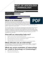 Internship Pennsylvania State University