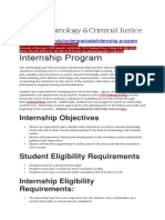 Internship University of Maryland