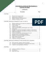 d pharm regulations