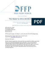 The Water to Wire Project