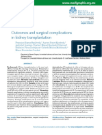 13 Outcomes and Surgical Complications in Kidney Transplantation