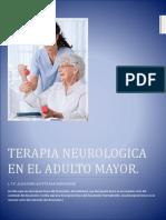 Terapia Neurologica en El Adulto Mayor.UPQROO