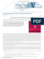 Detección de La Simulación en El Contexto Medico Legal