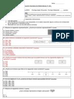 Evaluación Matemática Mayo(a)