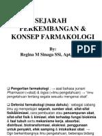 (1) Sejarah Perkembangan Dan Konsep Farmakologi