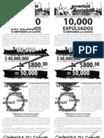 10,000 Expulsados, Boletín #13, Septiembre 2010