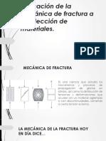 Expo Mecánica de Fractura