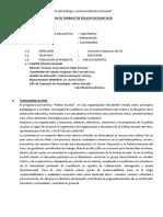 Plan de Policias Escolares 2018