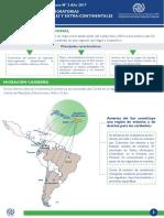 Recientes Tendencias Migratorias Extra e Intra Regionales y Extra Continentales en America Del Sur Es