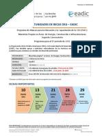 Convocatoria 2 OEA-EADIC 2016