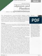 Schubert Skulpturen Und Plastiken Des Expressionismus 2004
