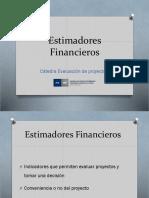 Estimadores financieros 2015