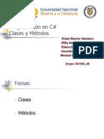 Aporte Tutorial Clases y Métodos.