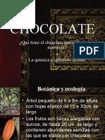 Chocolate y sus efectos en salud