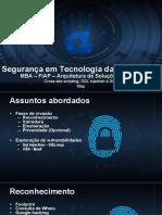 Segurança Em Tecnologia Da Informação