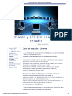 Caso de estudio_ Cinema - Diseño y análisis casos de estudio