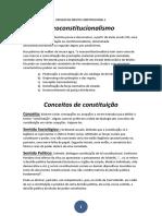 Resumo de Direito Constitucional 1