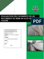Evaluacion de Pavimento