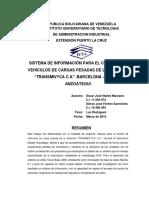 Ejemplo de Resumen y Anexos