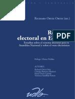 Reforma electoral en Ecuador